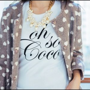 Oh So Coco Tee
